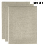 "Senso Clear Primed Linen 1-1/2"" Box of Three 36x48"""