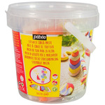 Pebeo Sidewalk Chalk Clay Dough Pail 5 Colors