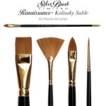 Silver Brush Renaissance Pure Red Sable All Media Brushes