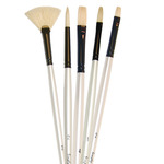 Simply Simmons Oil And Acrylic Brushes Wallet Sets