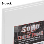 SoHo Urban Artist Canvas Panel 3-Pack 8x8""