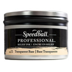 Speedball Pro Relief Ink Can  Transparent Base 8 Oz
