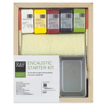R&F Encaustic Starter Kit with 5 40ml sticks