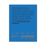 """Stonehenge Aqua Watercolor Paper 140lb Cold Press 9x12"""" Block of 15 Sheets"""