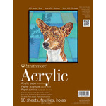 """Strathmore 400 Series Acrylic Pad 12x18"""" 10 Sheets"""