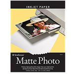 "Strathmore Artist Inkjet Papers Digital Matte Photo Paper 4x6"" 24 Sheet Pack"