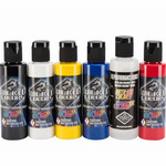 Wicked Air Airbrush Colors Primary 2oz set of 6
