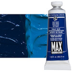 MAX Water-Mixable Oil Color 37 ml Tube - Thalo Blue