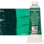 MAX Water-Mixable Oil Color 37 ml Tube - Thalo Green Yellow Shade