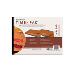 "New Wave Timbr Rectangular Palette Pad 9x12"" -  50 Sheets"
