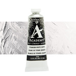 Grumbacher Academy Oil Color 37 ml Tube - Titan White Soft