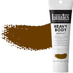 Liquitex Heavy Body 4.65 oz Tube - Transparent Raw Umber
