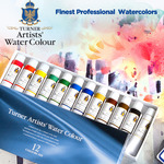Turner Concentrated Artists' Professional Watercolor Sets