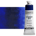 Williamsburg Handmade Safflower Oil Color 37ml Tube - Ultramarine Blue