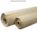 Unprimed Cotton Duck Rolls