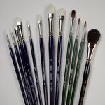 Silver Brush Professional Artist Brush Sets