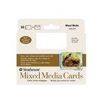 "Strathmore Blank Announcements - Mixed Media 10-Pack 3.5x4.875"" - Vellum"