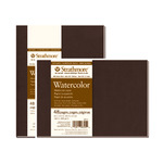 "Strathmore 400 Series Softcover Watercolor Art Journal 5-1/2x8"" (48 pg) - White"