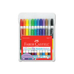 Faber-Castell Duo Tip Markers Set of 12 - Assorted Colors