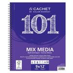 Cachet 101 Mixed Media Pad (60 Sheets Wirebound/Portrait)