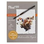 Fluid 100 Professional Watercolor Paper Sheets, Blocks & Pochettes