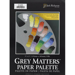 "Grey Matters 30-Sheet Paper Palette Pad 16x20"""