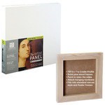 "Ampersand Value Series Artist Panel 3-Pack Smooth Finish - 7/8"" Cradle 4x6"""