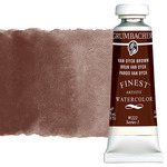 Grumbacher Finest Artists' Watercolor 14 ml Tube - Van Dyck Brown