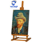 Creative Mark Van Gogh Wood Table & Display Easel