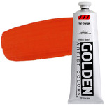 GOLDEN Heavy Body Acrylic 5 oz Tube - Vat Orange