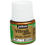Pebeo Vitrail Color Opaque Warm Gold 45 ml