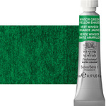 Winsor & Newton Professional Watercolor 5 ml Paint Tube - Winsor Green Yellow Shade
