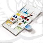 Winsor & Newton Professional Watercolor Deluxe Compact Pan Set