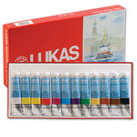 LUKAS Watercolor Studio Set of 12 12 ml Tubes