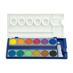 Pelikan Watercolor Opaque Set of 24 Large Pans