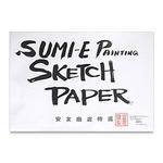 """Yasutomo Washi 6H Hosho Paper 9x12"""" Pad - White"""