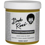 Bob Ross Liquid Medium 250ml Bottle - Clear