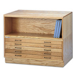 Mayline Oak Flat Files