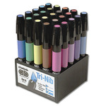 Chartpak AD Markers Basic Color Set of 25 - Assorted Colors