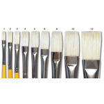 Isabey Special Bristle Brush Series 6086 Flat 1