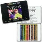 Prismacolor Watercolor Pencil Set of 24 - Assorted Colors