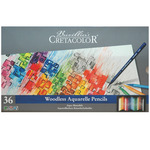 Cretacolor AquaMonolith Pencils 36 Color Set - Assorted Colors