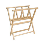 Folding Wood Print Rack by Creative Mark
