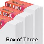 "The Edge All Media Cotton Canvas 2-1/2"" Box of Three 16x20"""