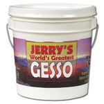 World's Greatest Acrylic Gesso Primer 1 Gallon Pail - White