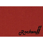 Rockwell Brush Easel Storage Case Small - Red