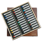 Sennelier Oil Pastels Wood Box Set of 36 La Grande - Assorted Colors