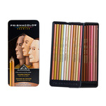 Prismacolor Premier Colored Pencils Tin Set of 24 Portrait Colors - Portrait Colors