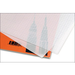 Clearprint 1000H Transparent Vellum Plain Pad 18x24""