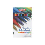 Koh-I-Noor Progresso Woodless Colored Pencils 12 Color Set
